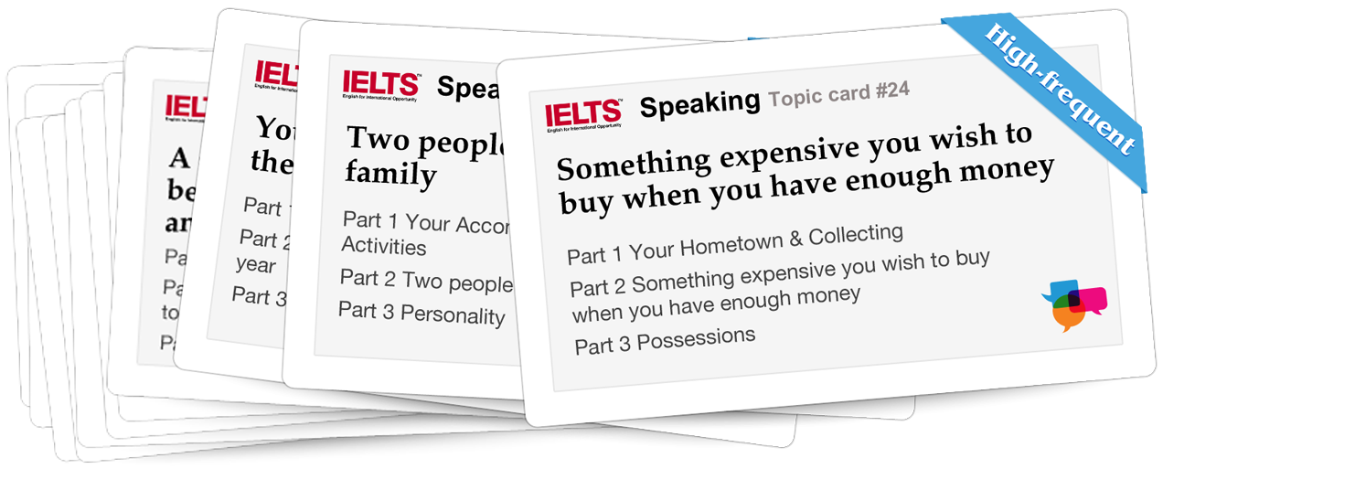 IELTSpeaking - The most effective way to improve your English